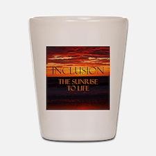 sunrise-a Shot Glass