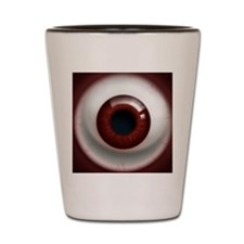 16x16_theeye_reddark Shot Glass