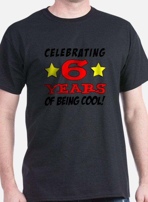 Celebrating 6 Years T-Shirt
