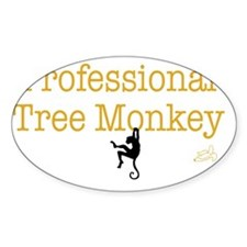 tree monkey Decal