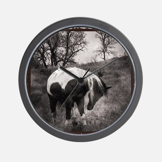 My Horse My Friend My Passion3 Wall Clock