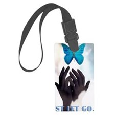 JUST LET GO Luggage Tag