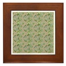 Ivy Wood-Framed Tile