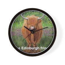 Edinburgh fringe Wall Clock