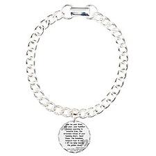 Lazarus Liberty Quote Bracelet