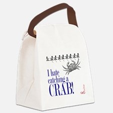 i hate catch a crab V2 Canvas Lunch Bag