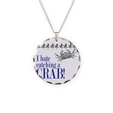 i hate catch a crab V2 Necklace