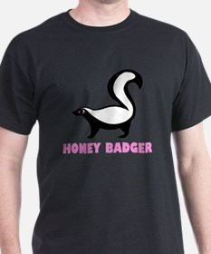 honeybadgerhbpinkb T-Shirt