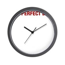 Perfect Day White Wall Clock