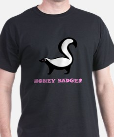 honeybadgerhbpinkbd T-Shirt