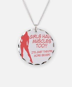 girls-have-muscles-too Necklace