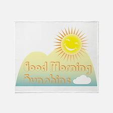 Good Morning Sunshine Throw Blanket