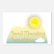 Good Morning Sunshine Postcards (Package of 8)