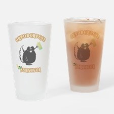 oct213black Drinking Glass