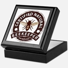 Certified Natural Beekeeper Keepsake Box