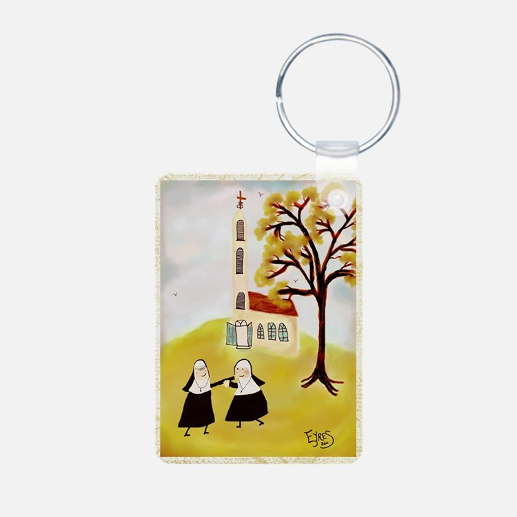 LOVE THY SISTERgreeting Keychains
