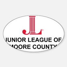 JLMC LOGO Sticker (Oval)