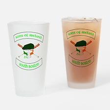 master logo southie Drinking Glass