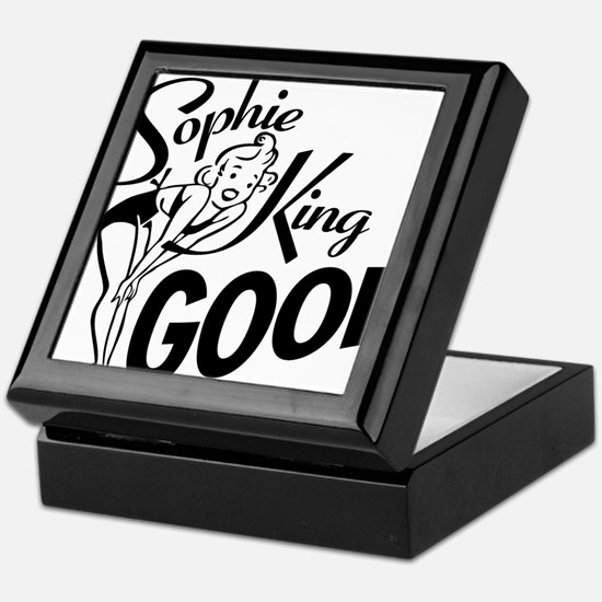 SophieKingGood black Keepsake Box