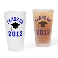 CO2012 Cap Blue Drinking Glass