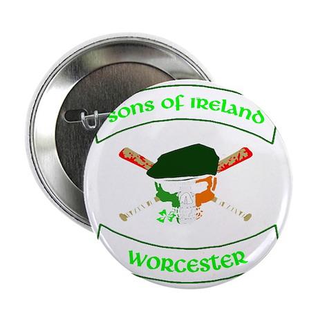 """master logo worcester 2.25"""" Button"""