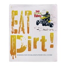 EatDirtDk Throw Blanket