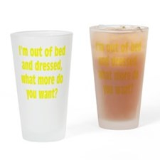 dressed3 Drinking Glass