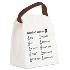Calculus Canvas Lunch Bag