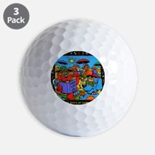 Dog Days Of Summer Golf Ball