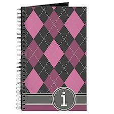 441_argyle_monogram_rose_i Journal