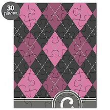441_argyle_monogram_rose_c Puzzle