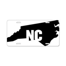 NC Aluminum License Plate