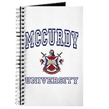MCCURDY University Journal