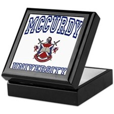 MCCURDY University Keepsake Box