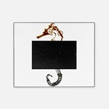 Industrial Sea Horse Picture Frame