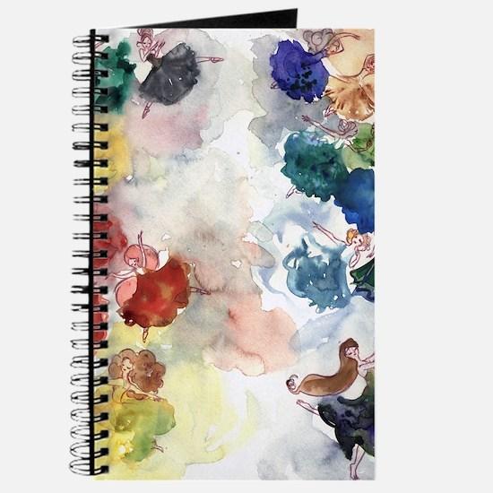 Watercolor Tutus Journal
