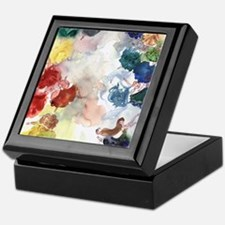 Watercolor Tutus Keepsake Box