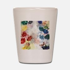 Watercolor Tutus Shot Glass