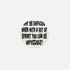 impossible1 Mini Button