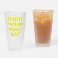 lost3 Drinking Glass