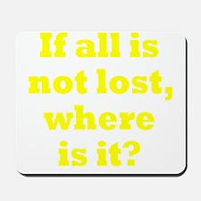 lost3 Mousepad