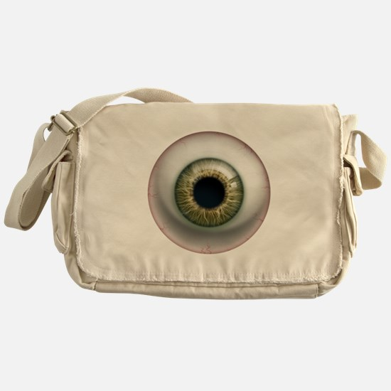 16x16_theeye_hazel Messenger Bag