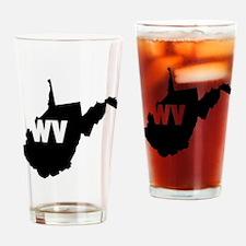 WV Drinking Glass