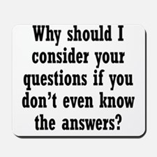 questions1 Mousepad