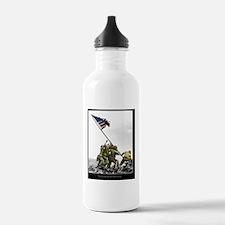 Iwopartial portret 16x Water Bottle