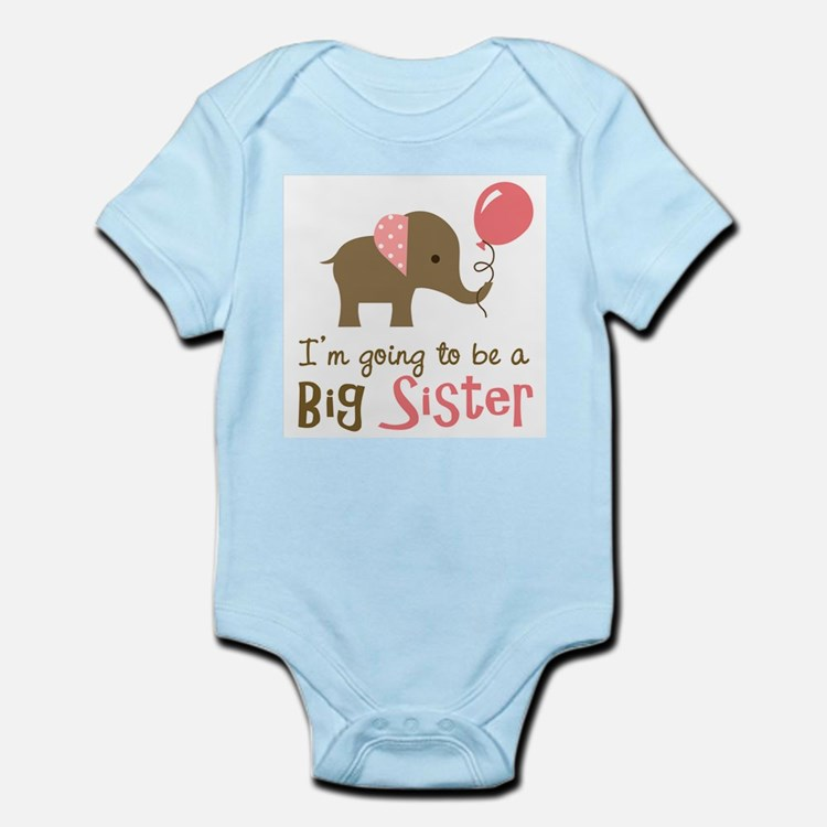 Big Sister to be - Mod Elephant Body Suit