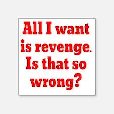"""revenge2 Square Sticker 3"""" x 3"""""""