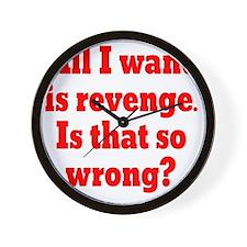 revenge2 Wall Clock