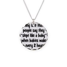 slept_baby1 Necklace