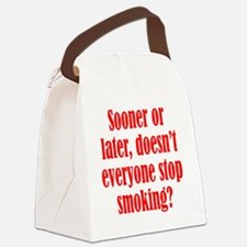 smoking2 Canvas Lunch Bag
